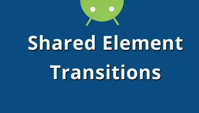 Shared Element Activity Transitions in Android