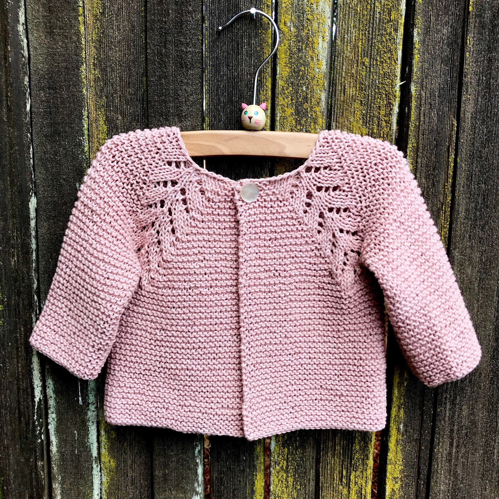 Baby Dress and Cardi and a surprise offer Knitionary