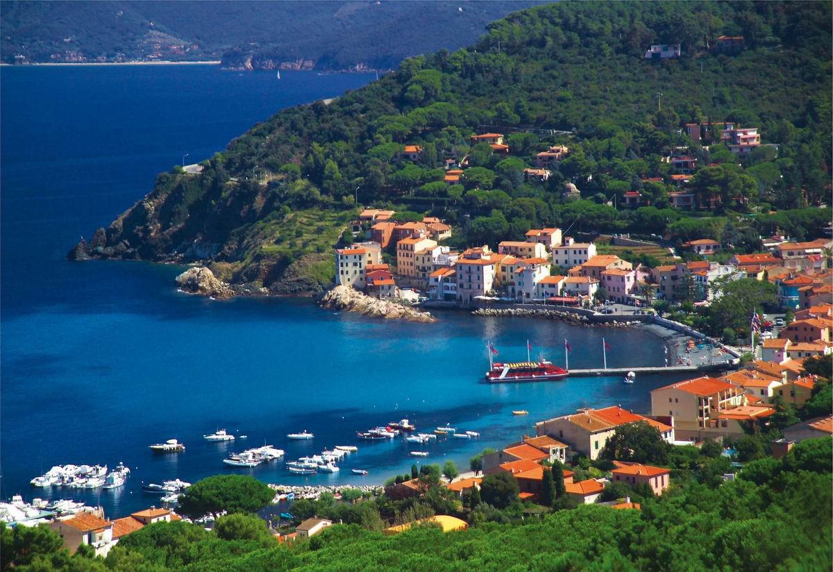 Marciana Italy Beautiful Coastal Village