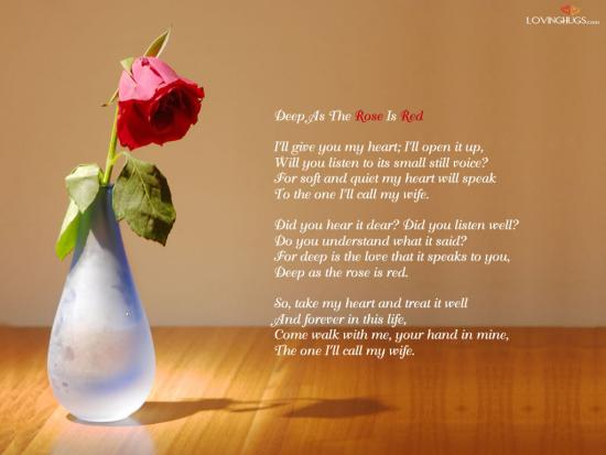 I Love You Poem Wallpaper, I Love You Wallpapers