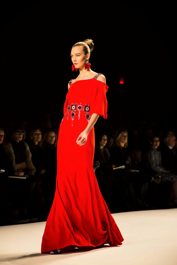 Carolina Herrera Fall 2014 NYFW by Cool Chic Style Fashion