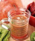 Jus delima campur buah dan sayur