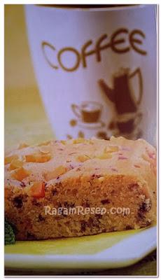 Resep Roti Cake Daging Asap dan Keju