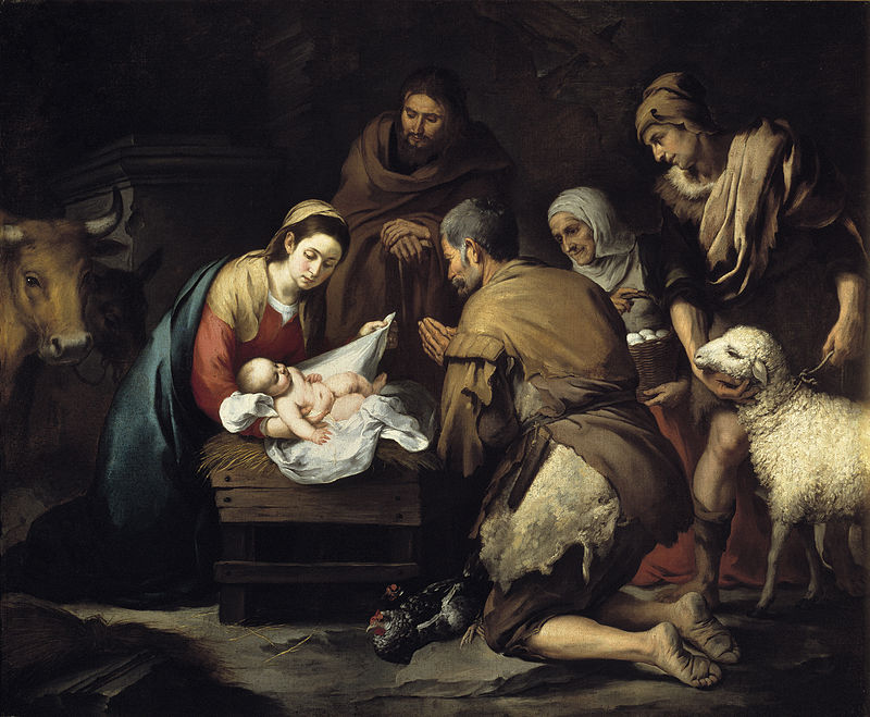 The Adoration of the Shepherds, c. 1650, Museo del Prado