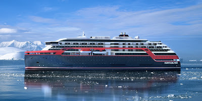 Hurtigruten Cruises - Roald Amundsen currently under Constructions at Kleven Shipyard