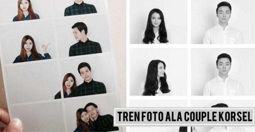 8 Foto unik ala couple Korea ini bisa kamu coba sama pasangan deh, yuk