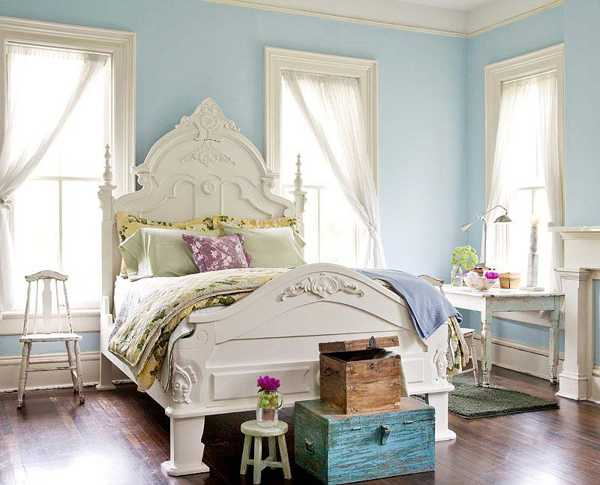 White And Blue Bedroom Colors Furniture Light Interior Decorating Ideas Walls On Pinterest Honey Oak Trim