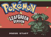 Pokemon Leaf Green Online (GBA)