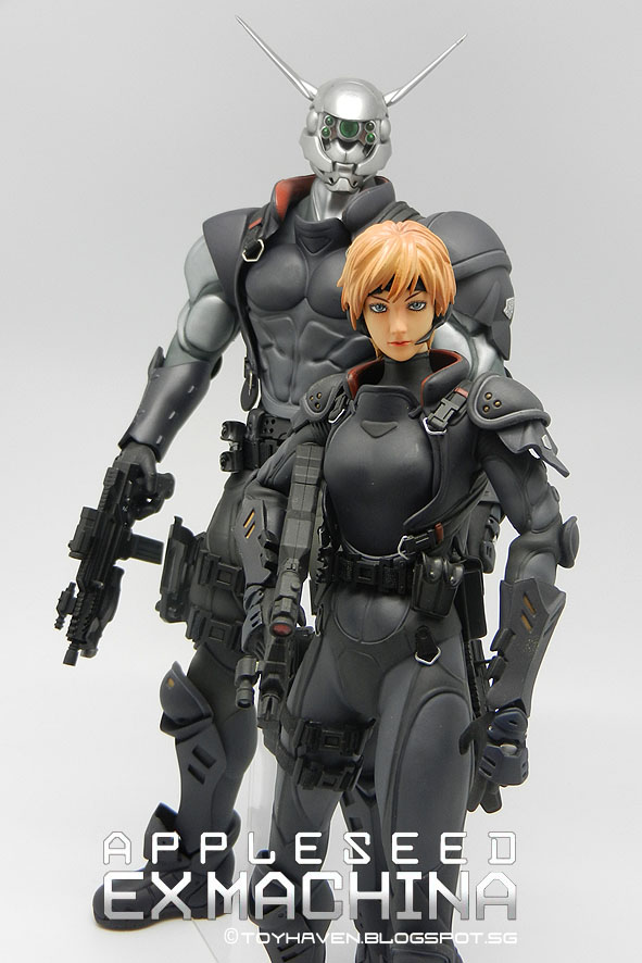 Toyhaven Hot Toys Mms Appleseed Ex Machina 1 6 Scale Deunan Knute Fully Pose Able Figure