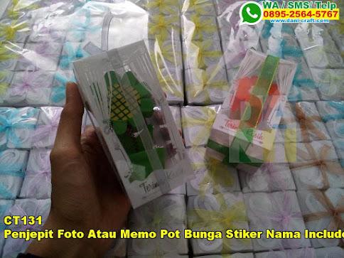 Toko Penjepit Foto Atau Memo Pot Bunga Stiker Nama Include Mika Eksklusif