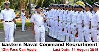 Eastern Naval Command Recruitment for Superintend, Store keeper 2015
