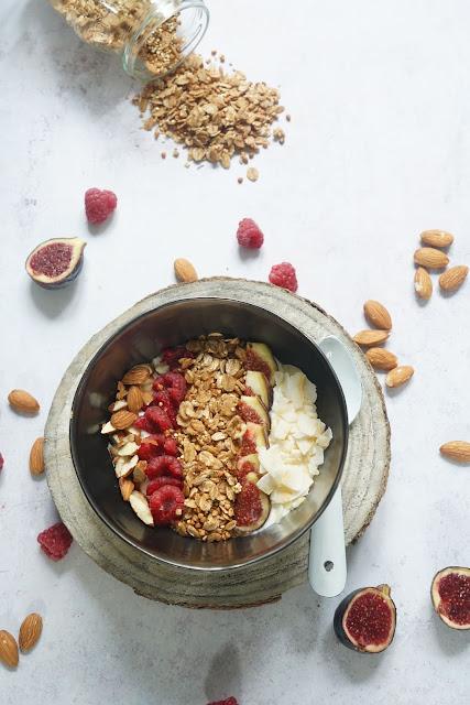 granola , quinoa , gluten free , kasha , petit dejeuner équilibré , healthy