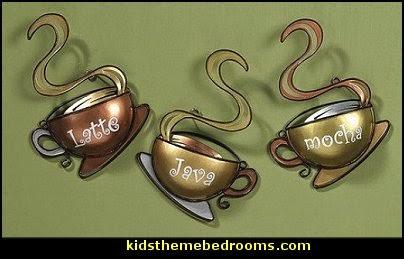 coffee theme decor - coffee themed decorating ideas - coffee themed kitchen decorations - coffee cup theme in the kitchen - coffee kitchen decor - coffee wall decal stickers - coffee cafe decor - coffee wallpaper murals - Barista tools  coffee cafe