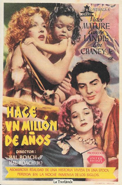 Hace Un Millón de Años - Programa de cine - Victor Mature - Carole Landis