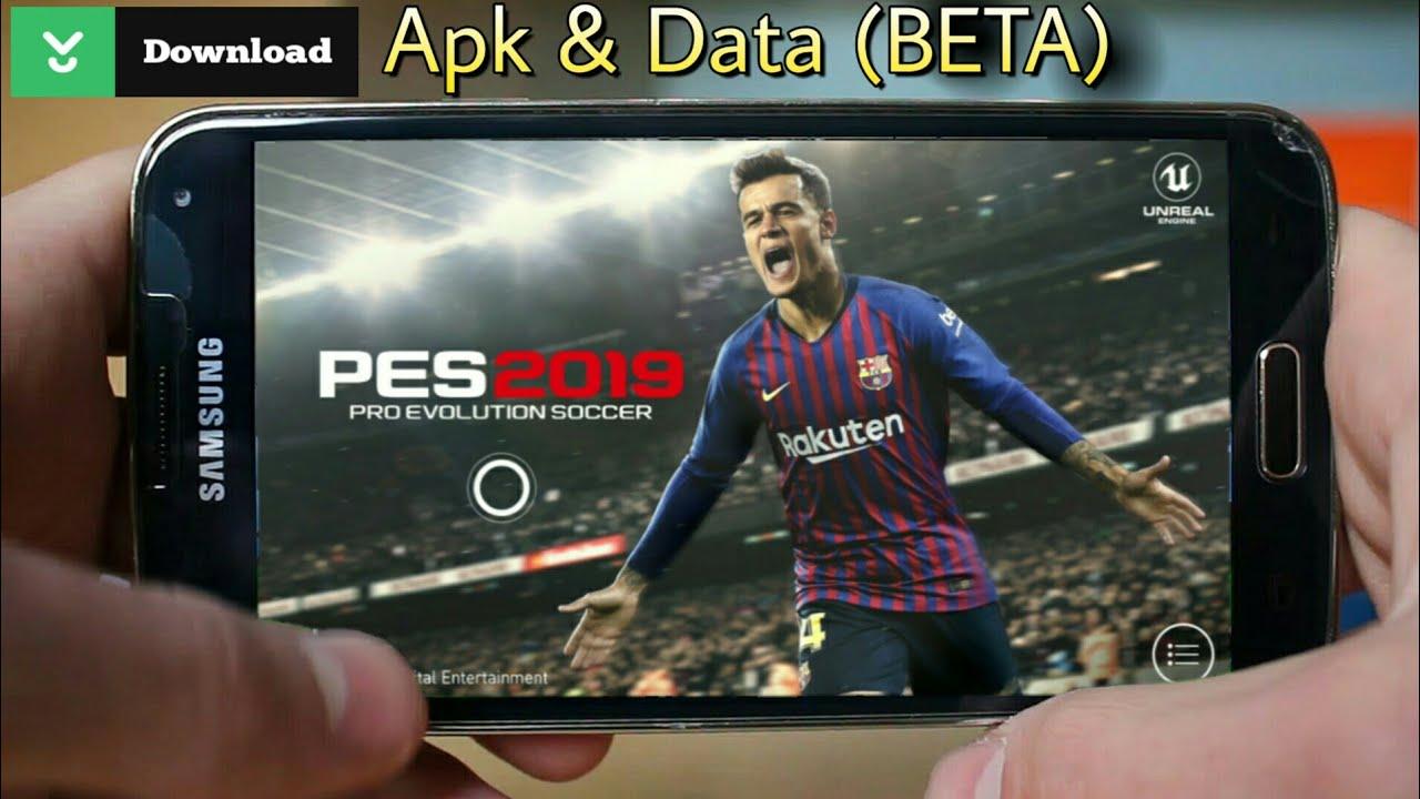 اخيرا🔥تحميل لعبة 19 PES للاندرويد   download PES 19 on