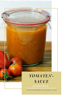 {Buchrezension mit Rezept} Tomatensauce einkochen #einkochen #einwecken #einrexen #tomatensauce #tomatenhaltbarmachen #konservieren - Foodblog Topfgartenwelt