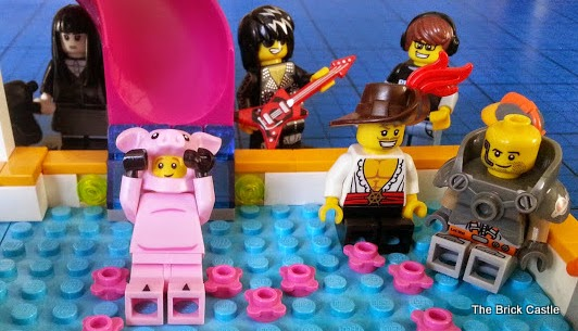 LEGO Series 12 minifigures heartlake pool party