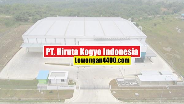 Lowongan Kerja PT. Hiruta Kogyo Indonesia Kawasan Industri KIIC Karawang