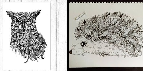 00-Anna-Brookes-Zentangle-Animals-www-designstack-co