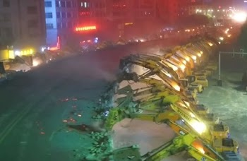 Κίνα: Εντυπωσιακή κατεδάφιση γέφυρας 500 μέτρων [video]