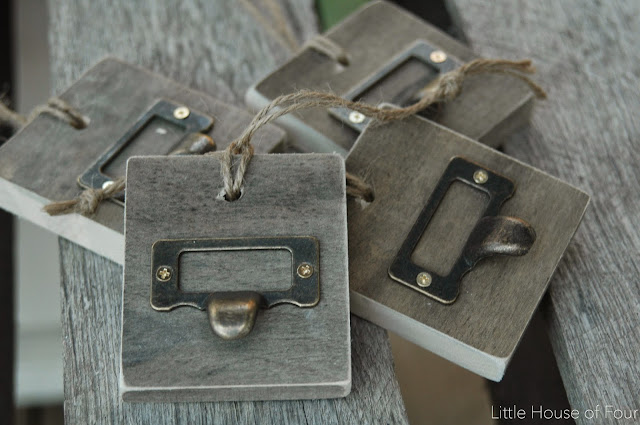 Source list for buying the BEST metal label holders and pulls! via Little House of Four