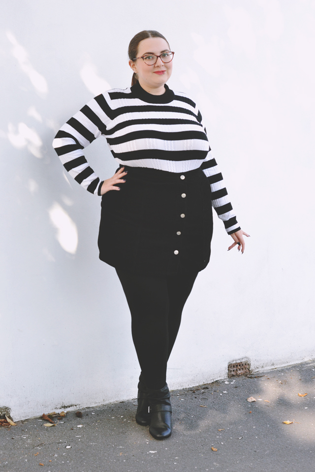 plus size sixties outfit