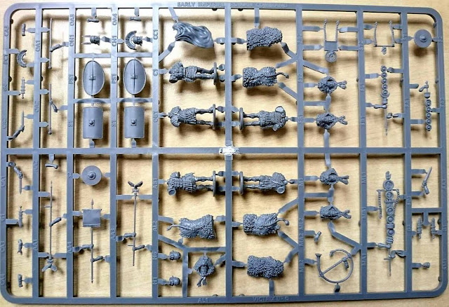 Victrix: Plastic Early Imperial Advancing Roman Infantry Sprues!