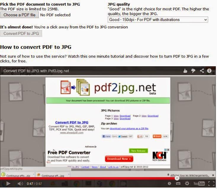 אתר pdf2jpg.net להמרת אונליין קבצי pdf לקבצי תמונה מסוג jpg