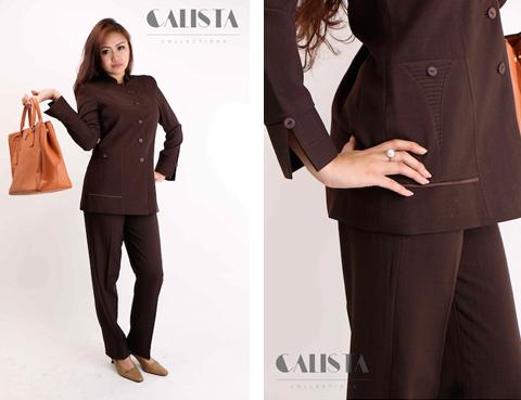 model baju seragam guru