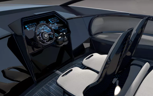 The Bugatti's $2.2 Million Super Yacht (Showing The Dash Board)