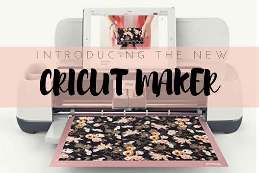 Meet the new kid on the block, the new Cricut Maker!