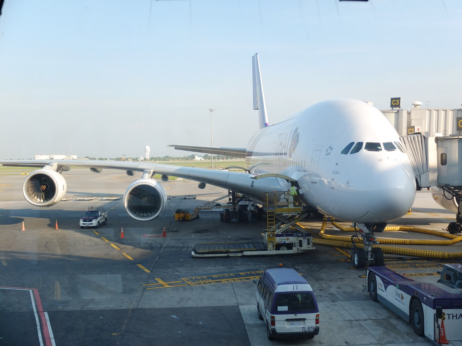 Avis du vol Thai Airways Paris → Bangkok en Economique