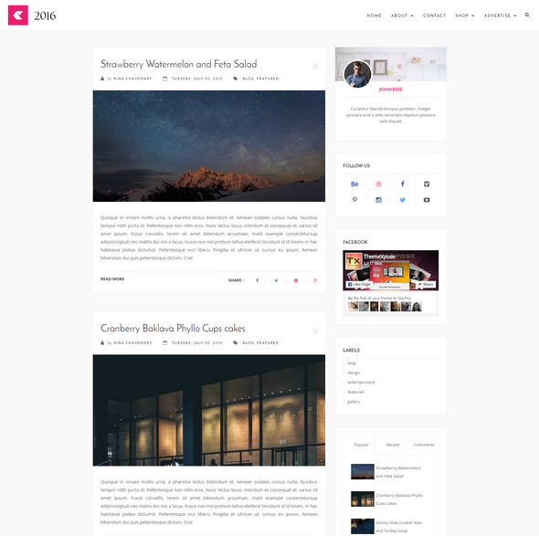 Best Blogger Template