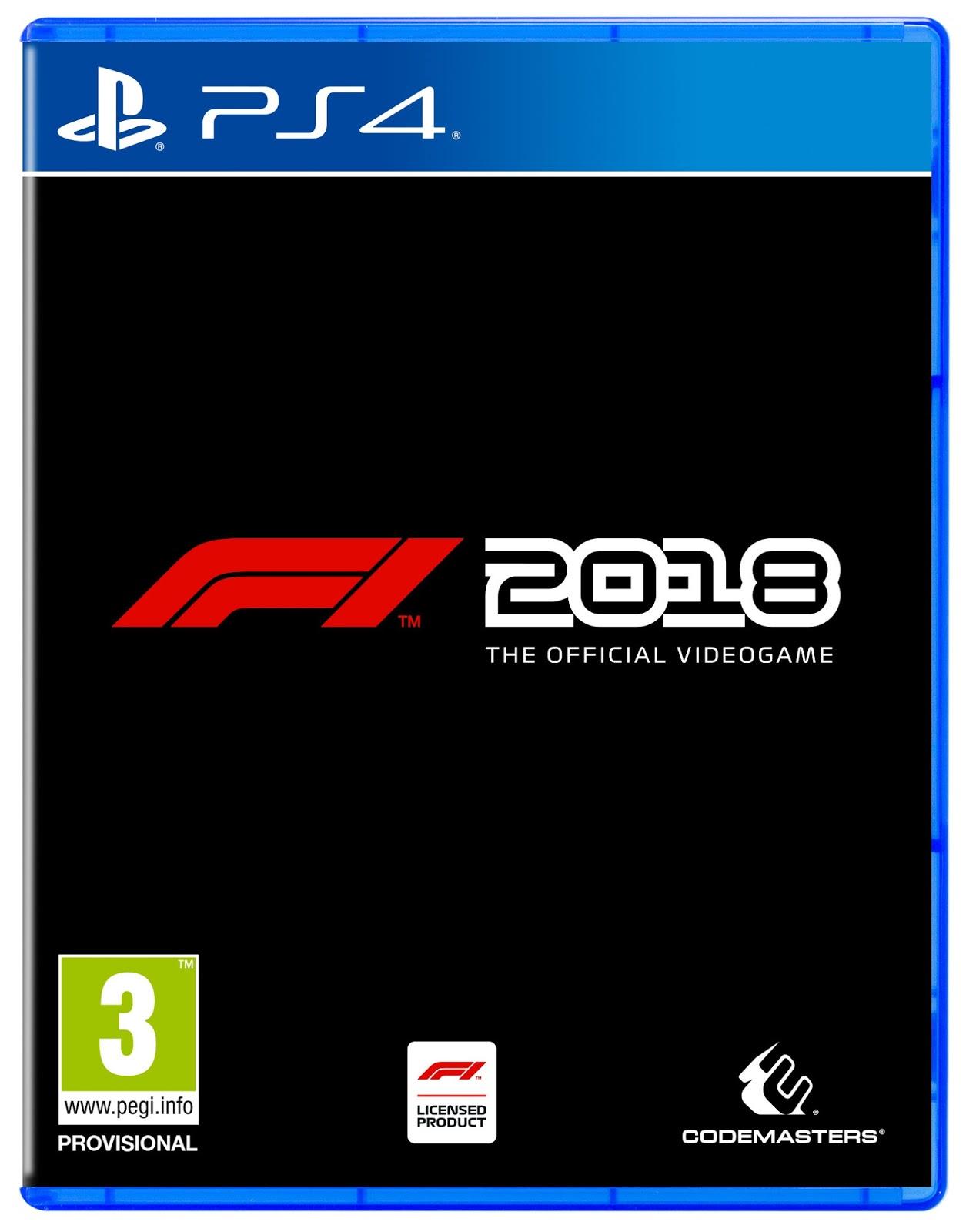 Anunciado F1 2018 para PS4, Xbox One y PC
