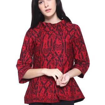 Model Blus Batik Remaja Yang Modis