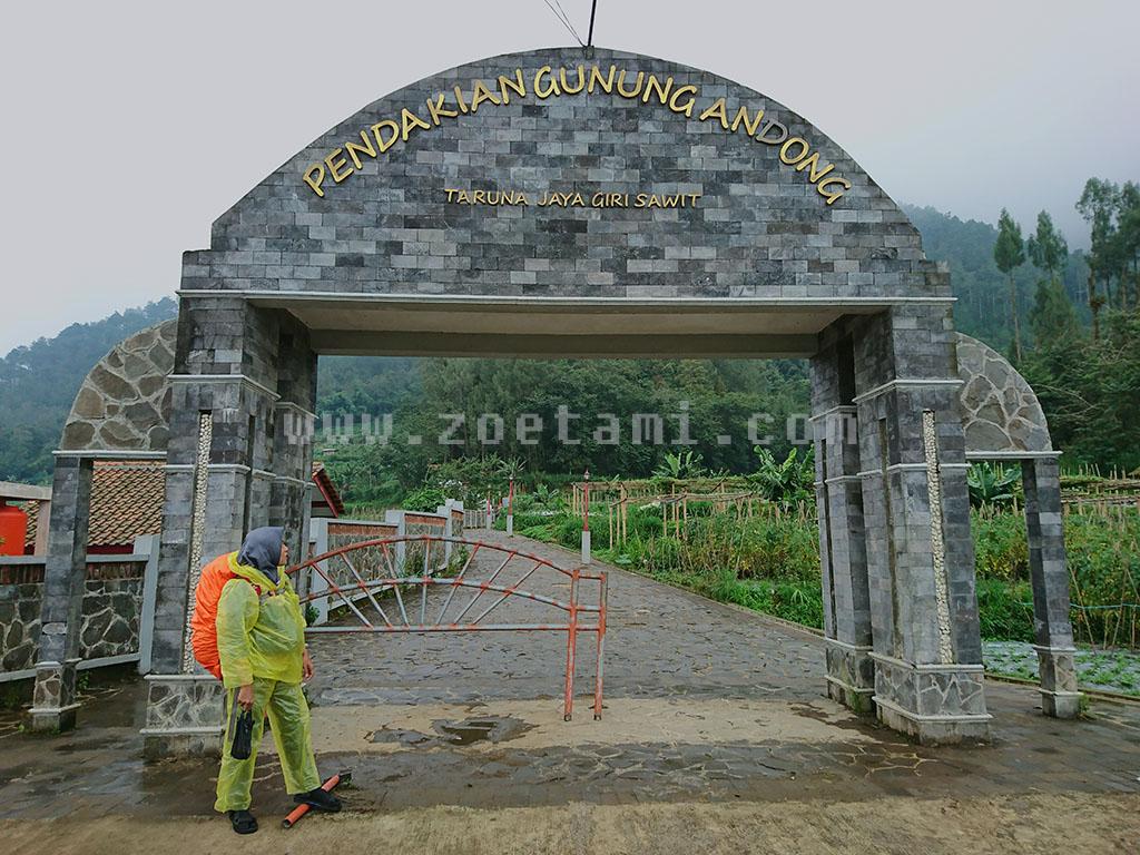 Basecamp Gunung Andong via Taruna Jaya Sawit