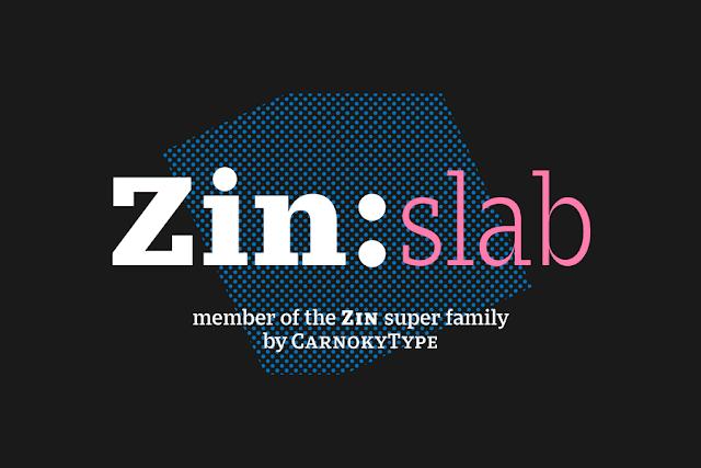 Malam ini kita sanggup koleksi font lagi nih sahabat syf Zin Slab Family Free Demo | Download font