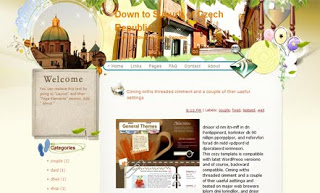 Down to Suburb of Czech Republic Blogger Template