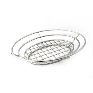 oval basket, burger basket, stainless basket, fruit basket