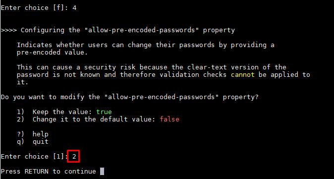 Cloud and Mobile Security: LDAP: error code 53 - User