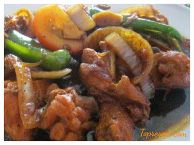Resepi Ayam Masak Halia Yang Mudah