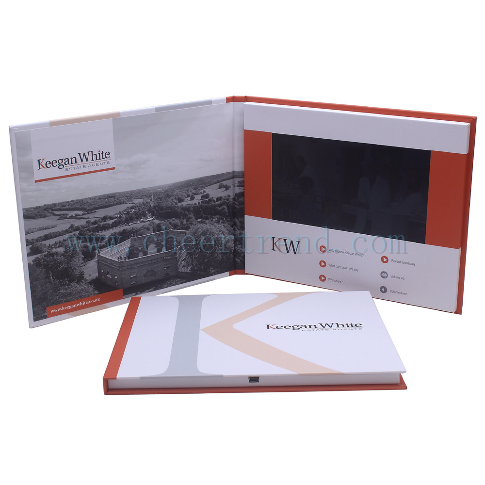 Video Brochure Card Video Greeting Card Promotional Voice
