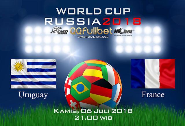 BOLA88 - PREDIKSI 8 BESAR PIALA DUNIA: URUGUAY VS PRANCIS 06 JULI 2018 ( RUSSIA WORLD CUP 2018 )