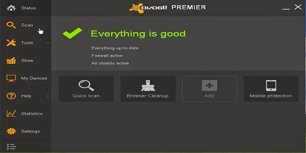 avast everything is good