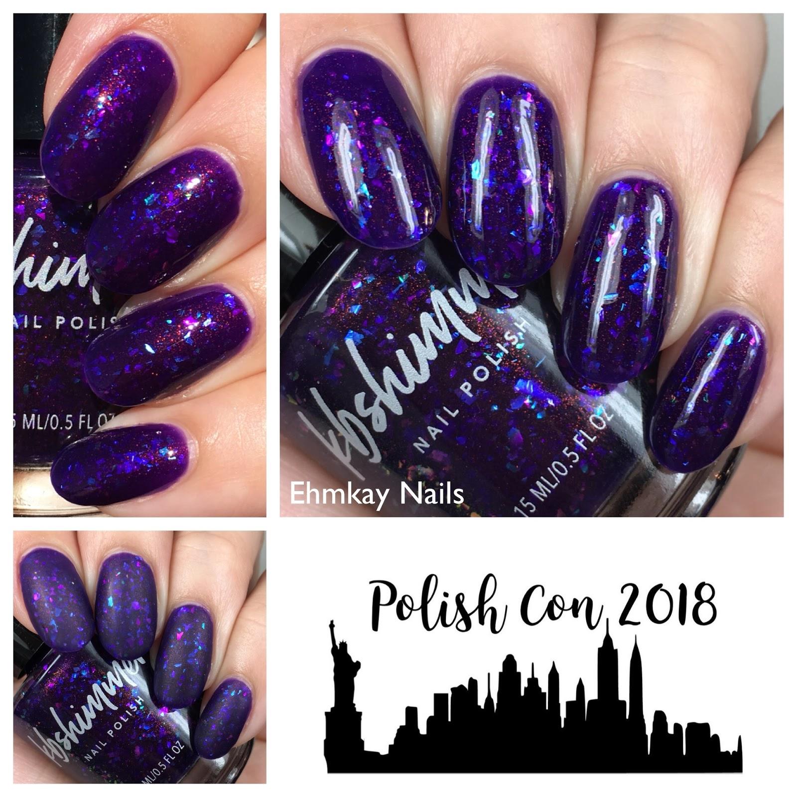 ehmkay nails: KBShimmer Hard to Empress, Polish Con Limited Edition