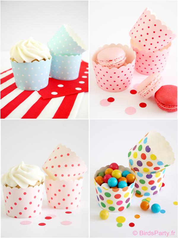Les Caissettes à Cupcakes | BirdsParty.fr
