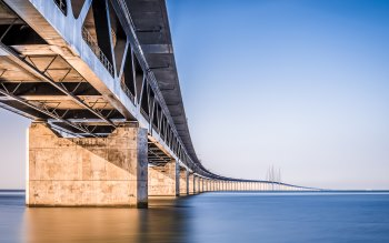 Wallpaper: Oresund Bridge