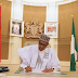 MPNAIJA GIST:Photos of Pres Buhari in his office as he resumes work today