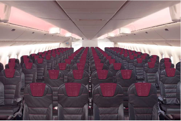 JAL will revamp its domestic fleet with LED cabin lighting that changes based on season and time of day