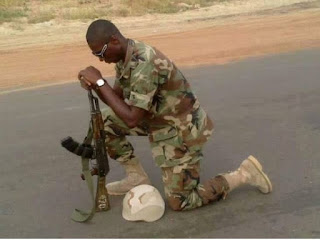 Mrs. Akparobi Orobogha was yesterday allegedly shot dead by one of the soldiers  Jakpa Junction Warri